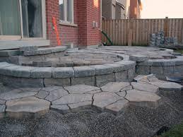 patio ideas stone outdoor floor and design flooring covering