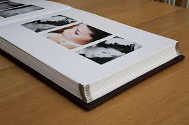 Leather Bound Wedding Album Jorgensen Deluxe Wedding Albums Neil Walker Photography