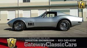 houston corvette 1969 chevrolet corvette stingray houston