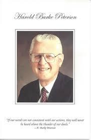 Funeral Program Covers Cardon Organization H Burke Peterson