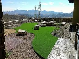 Backyard For Dogs Landscaping Ideas Fake Grass Oak Hills California Dog Running Backyard Landscape Ideas