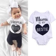 newborn jumpsuit shop infant baby clothes cotton rompers o neck