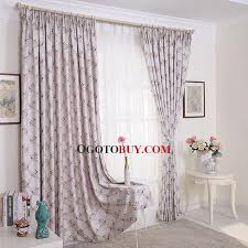 Cherry Blossom Curtains Beautiful Romantic Cherry Blossom Floral Pastoral Style Curtain