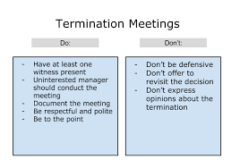termination checklist archives california employment law report