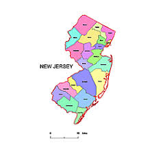 map of nj editable royalty free map of new jersey nj in vector graphic