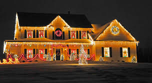Home And Garden Christmas Decorating Ideas by Decorations Best Places For Outdoor Christmas Decoration Ideas