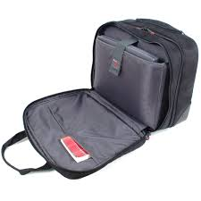 alpine swiss rolling briefcase on wheels roller 17