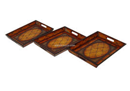 Wooden Serving Trays For Ottomans by Serving Trays Home Decoration Ideas
