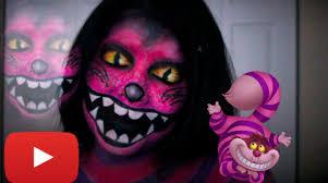 cheshire cat halloween makeup tutorial jordan hanz recreation