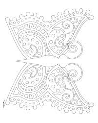 small butterfly coloring pages dominiquecastille co