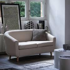 Esszimmer Mit Sofa Sofa Little 2 Sitzer Stoff Beige Home24