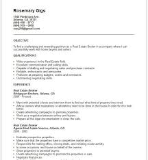 real estate resume examples real estate agent resume samples