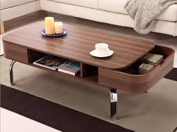 coffee table modern coffee table with hidden drawers oval coffee
