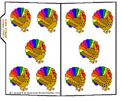preschool printables file folder turkey lurkey