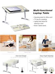 Laptop Bed Desk Tray Avantree Quality Adjustable Laptop Table Portable