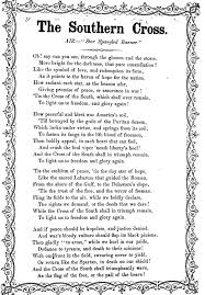 the southern cross song sheet