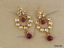 latkan earrings latkan moti kundan earring manek ratna