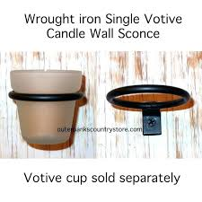 Votive Wall Sconce Country Wall Sconces For Candles U2013 Slwlaw Co