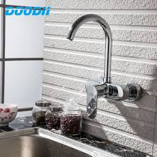 high quality kitchen faucets doodii high quality wall mounted holes kitchen faucet
