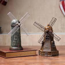 fashion vintage tourist souvenir charm windmill house