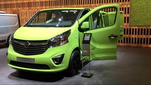 opel vivaro opel vivaro 2017 in detail review walkaround interior exterior