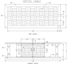 Wood Coffee Table Plans Free by Build A Wooden Coffee Table Free Woodworking Plans At Lee U0027s Wood