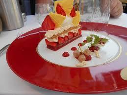 hysope cuisine le fraisier revisité photo de l hysope la jarrie tripadvisor