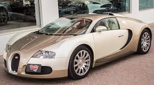 bugatti gold and unique light gold bugatti veyron for sale gtspirit