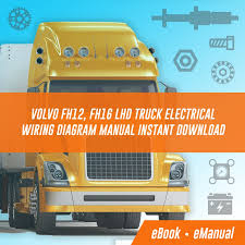 volvo fh12 fh16 wiring diagram volvo wiring diagrams