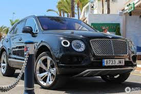 bentley sport 2016 bentley bentayga 9 august 2016 autogespot