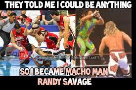 Macho Man Randy Savage Meme - funny meme barangay ginebra vs alaska aces quarter finals
