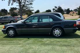 mercedes porsche 500e parking lot d u0027elegance 9 classics found parked in pebble beach