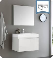 White Wall Mounted Bathroom Cabinets by Wall Mounted Bathroom Vanities Bathroom Vanities For Sale