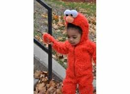 Humpty Dumpty Halloween Costume Sesame Street Elmo Plush Deluxe Toddler Costume Buycostumes