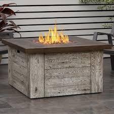 Outdoor Lp Fireplace - outdoor fireplaces you u0027ll love wayfair
