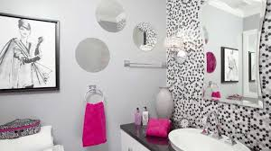 teenage bathroom ideas grey color ceramics borders shower