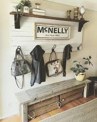entry hall bench and coat rack watng stan smple creatve addcn gve