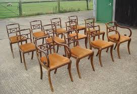 Regency Dining Chairs Mahogany Antique Furniture Warehouse Long Set Of Antique Chairs Set Of