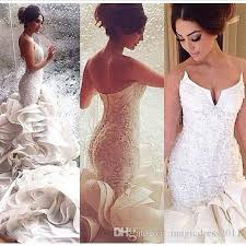 robe de mariã e sirene mermaid wedding dresses high quality gorgeous mermaid wedding