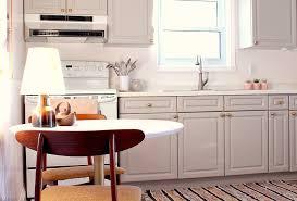 budget friendly grey gold pink kitchen makeover dans le lakehouse