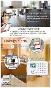 2017 new products smart home alarm system with rfid card