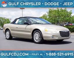 chrysler sebring in alabama for sale used cars on buysellsearch