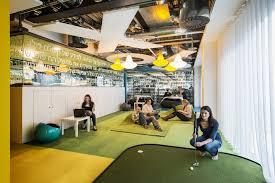 mini golf bureau s brand identity through office interior design office