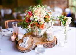 2 rustic wedding table decorations wood centerpieces pictures