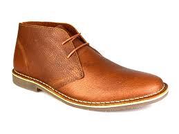 red tape gobi milled leather tan honey men u0027s formal desert boots