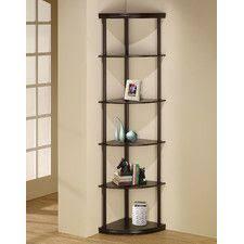 Bookshelves Corner by 67 Smaller One Amazon 38 Inch Highcasual Home 4 Shelf Corner