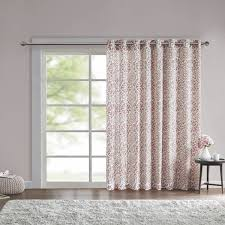 Curtain Patio Door Intelligent Design Rimini Grommet Medallion Patio Door Curtain
