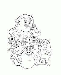 pictures monsters characters kids coloring
