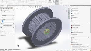 how to drawing drive pulley on solidworks youtube
