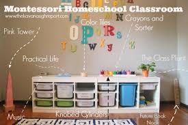 Montessori Bedroom Toddler Montessori Inspired Tot Classroom Montessori Homeschool